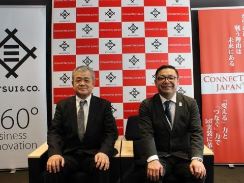 三井物産株式会社と資本提携