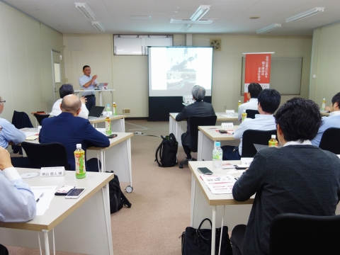 We held Seminar of the New Chemical Technology Promotion Association (JACI)