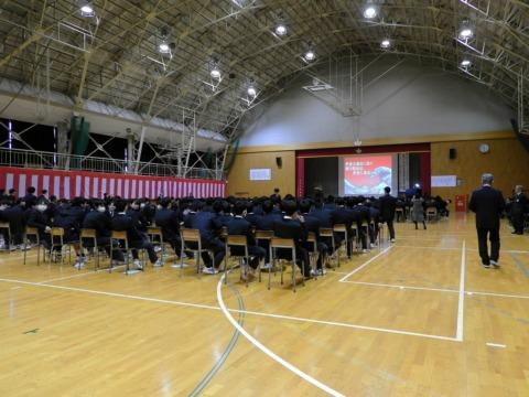柏崎工業高校80周年記念式典にて講演をいたしました