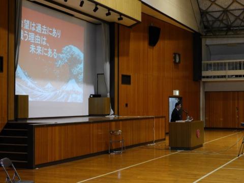 上越総合技術高校での講演